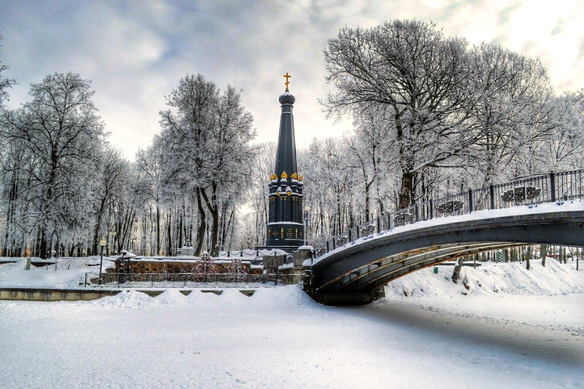 В зимнем саду - Милешкин Владимир Алексеевич