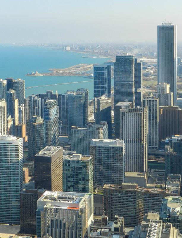 Вид на сев. часть г.Чикаго и оз.Мичиган - Юрий Поляков