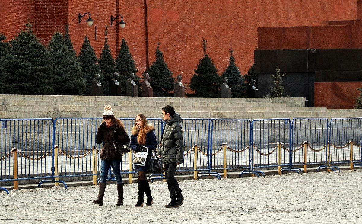У Кремлёвской стены. - Владимир Болдырев