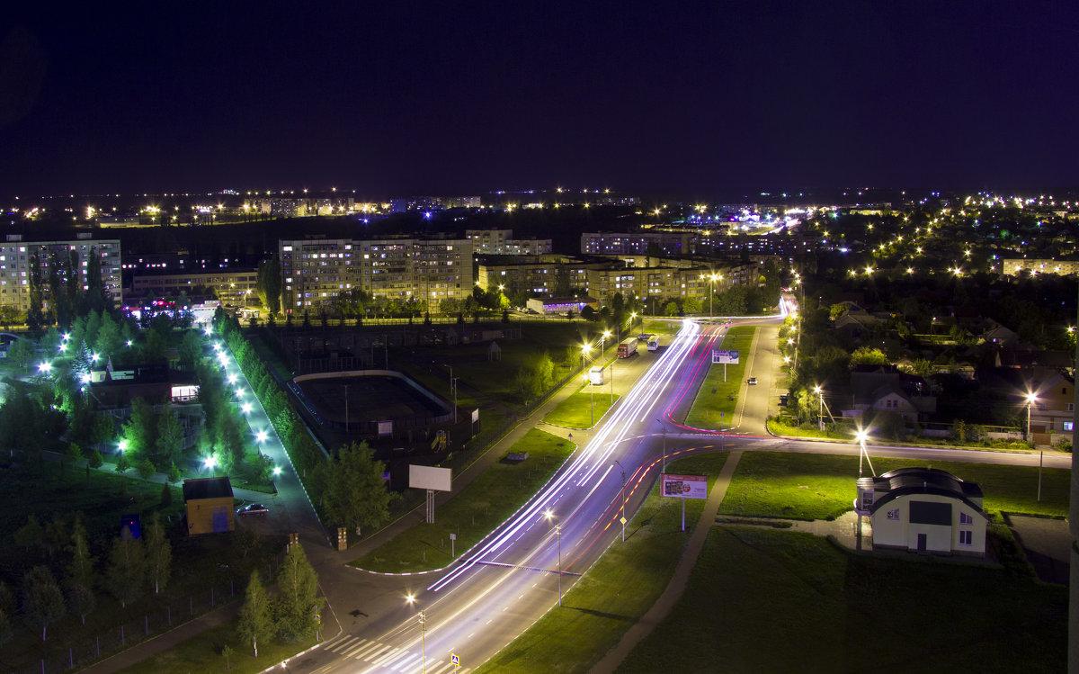 Ночной город - Виктория Дергачёва