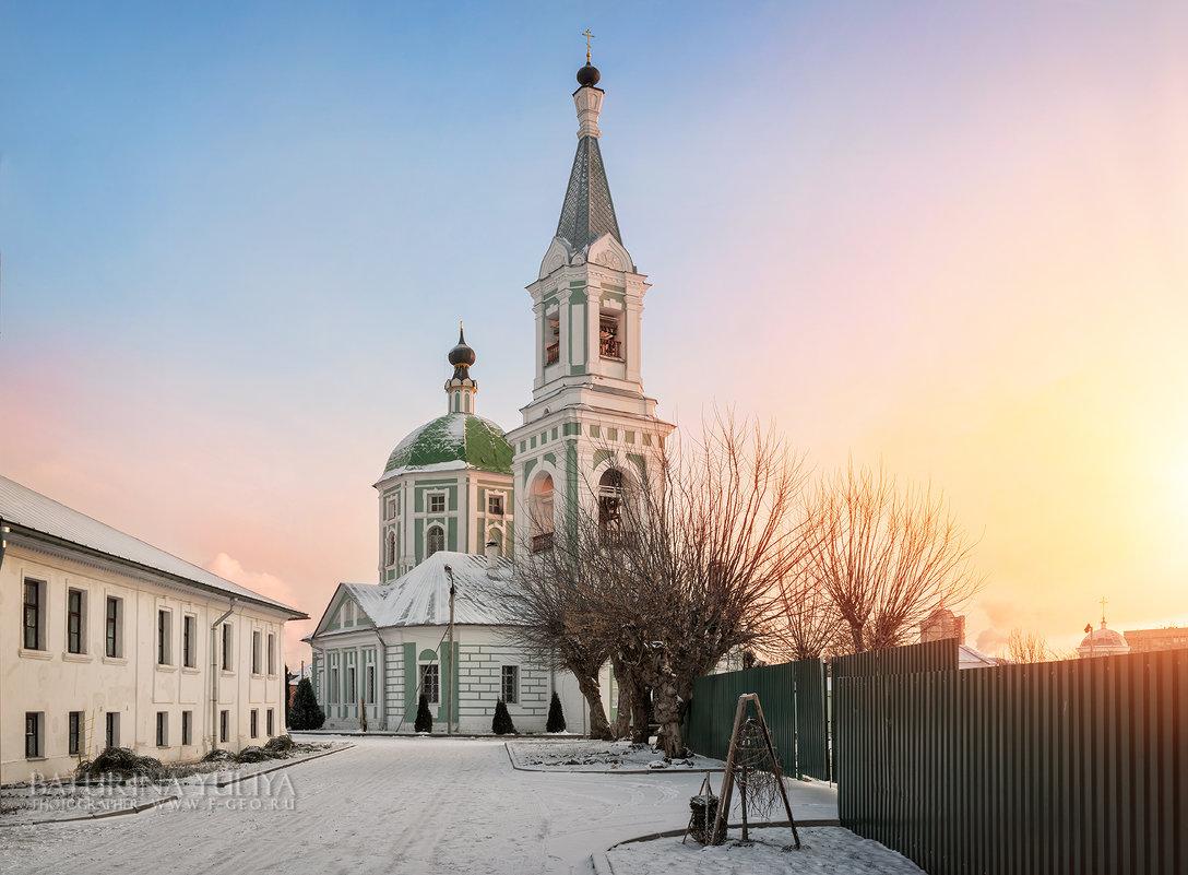 В Екатерининском монастыре - Юлия Батурина