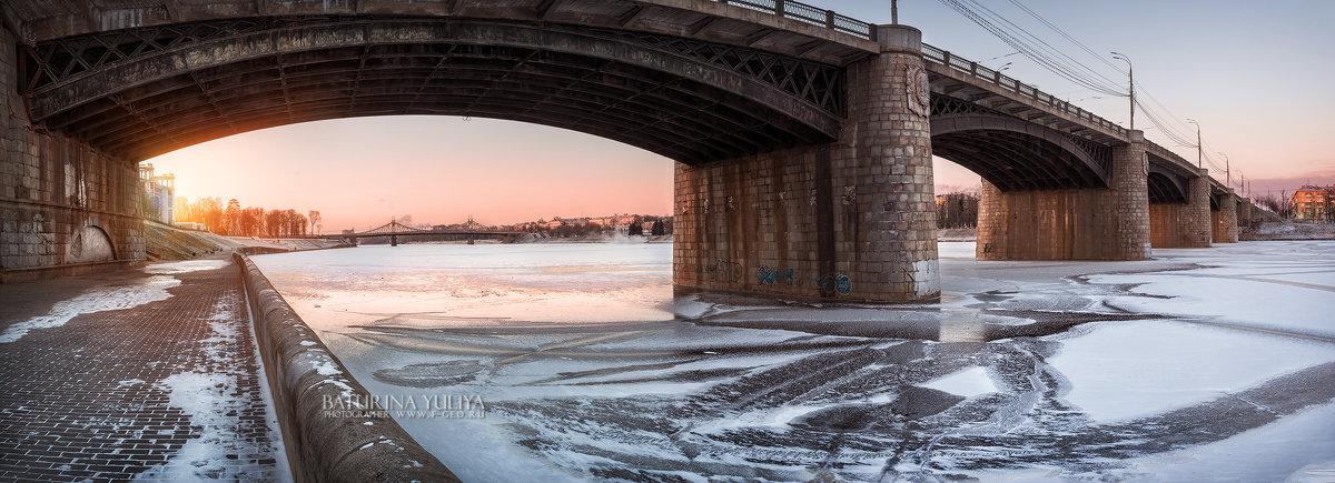 Нововолжский мост в Твери - Юлия Батурина