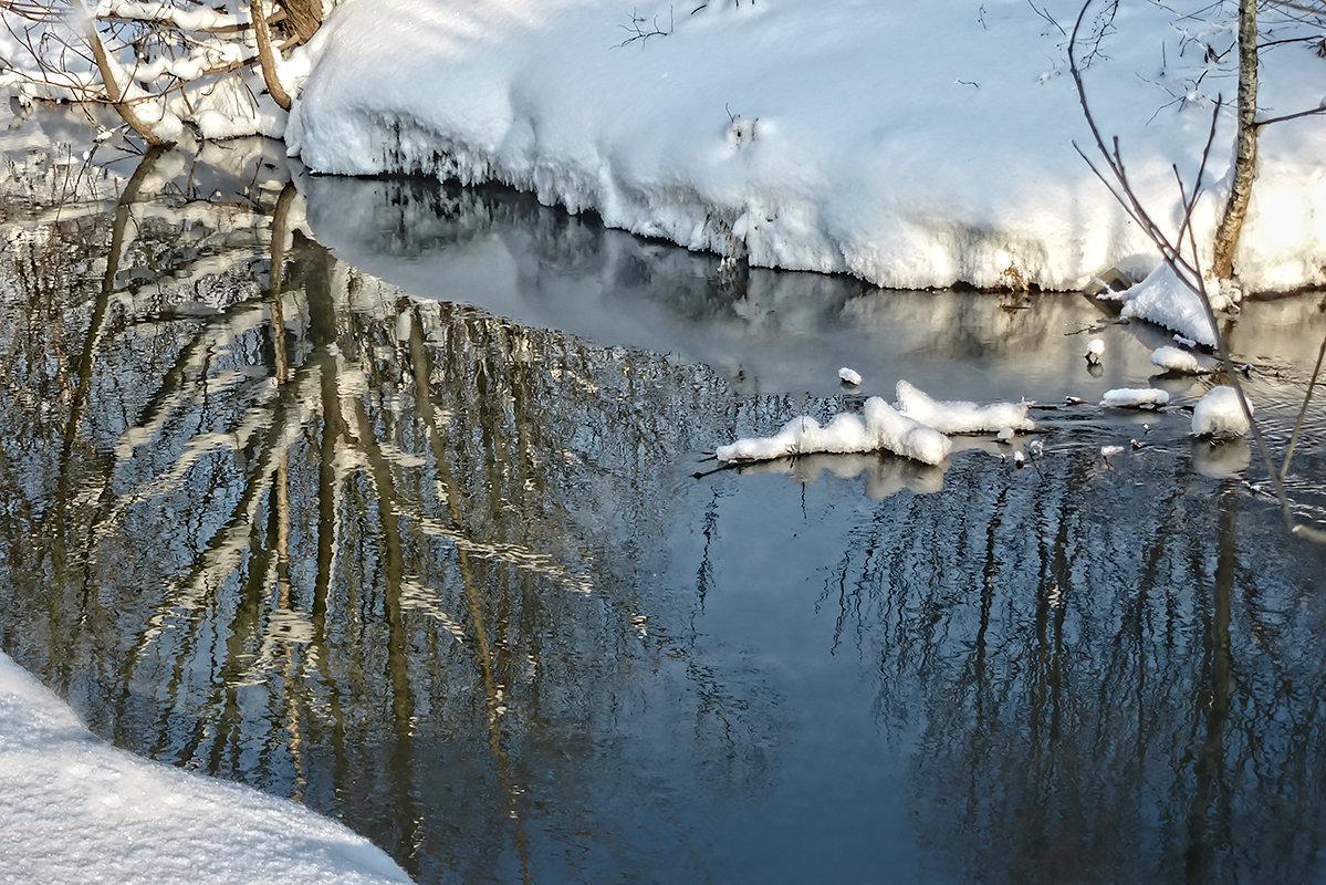 Отражение реальности в текущей воде - Galina