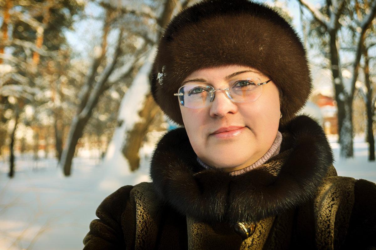 Зимний портрет. - Андрей Лобанов