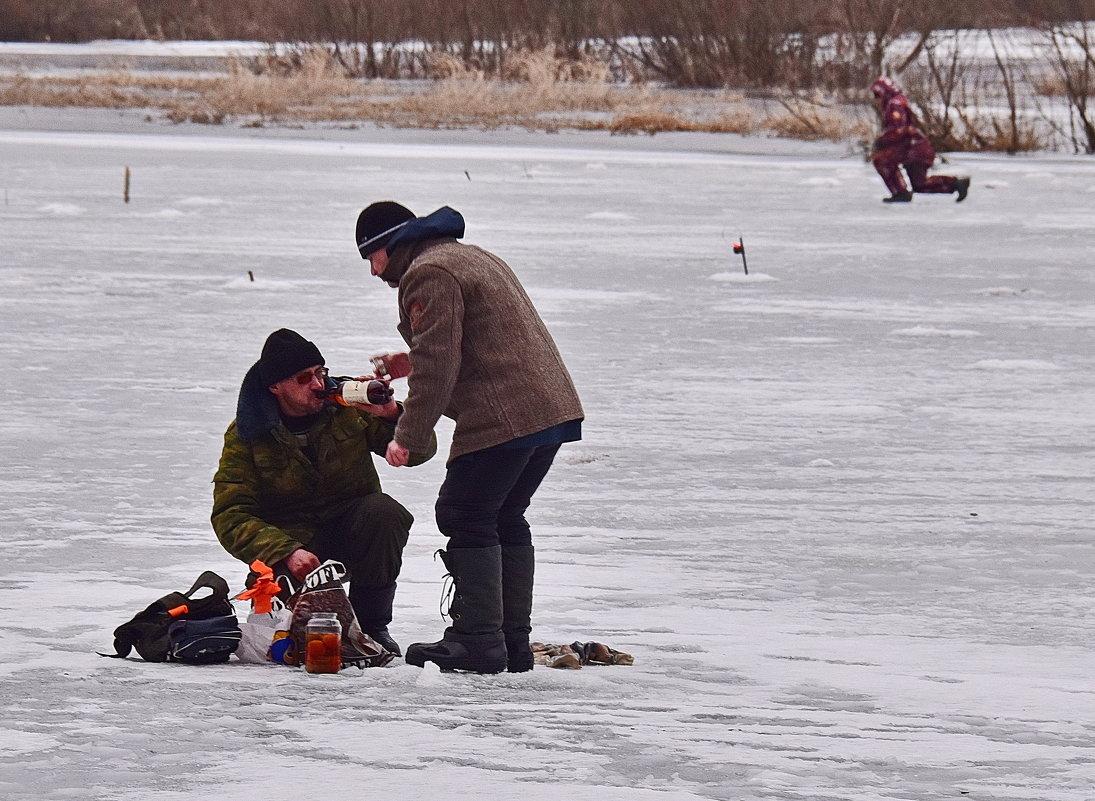 рыбалка наливай да пей