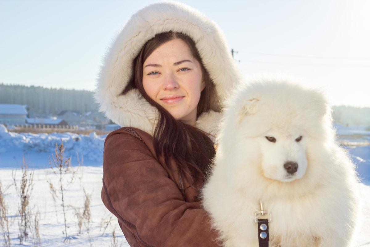 С пушистым другом - Анастасия Шаехова