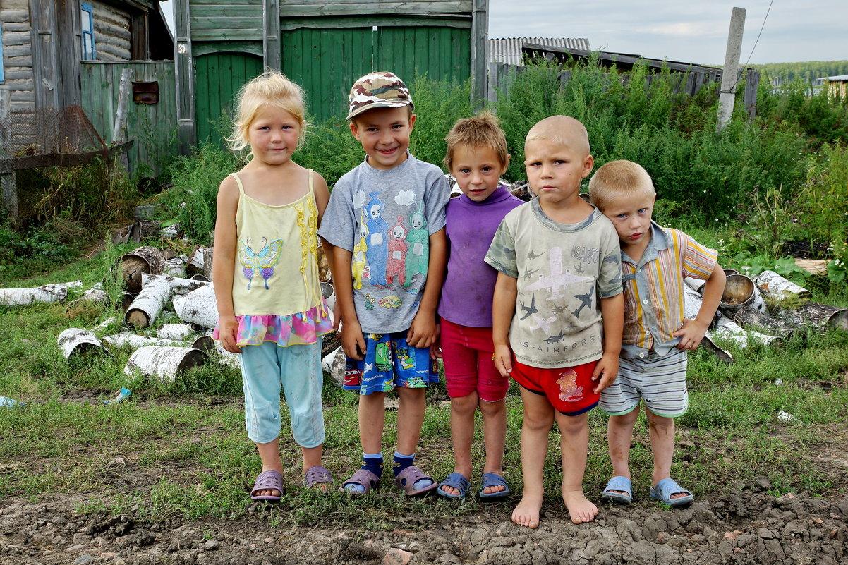 Дети, живущие в деревне
