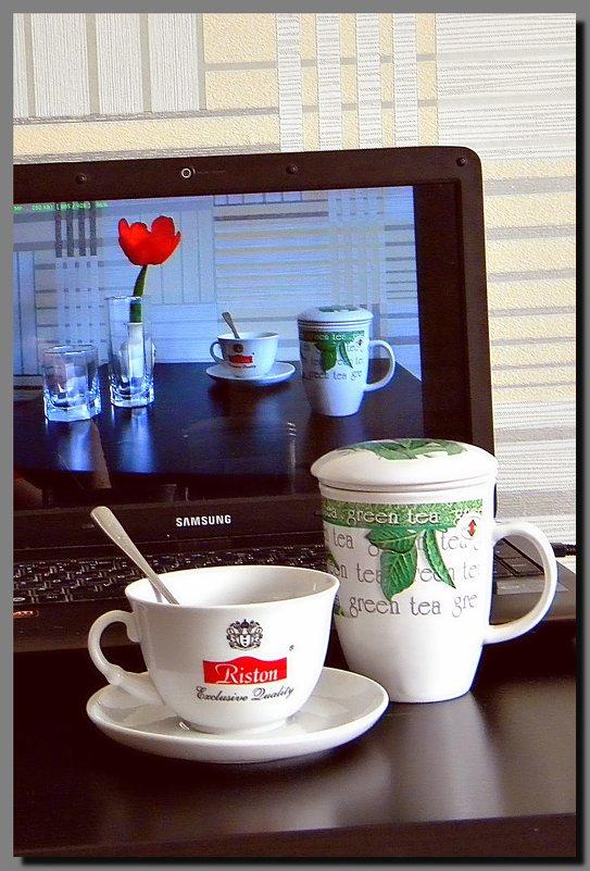 Green  tea.  English. - Ivana