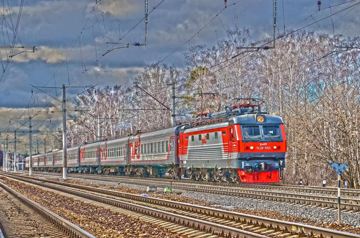 Электровоз ЧС2К-660 - Денис Змеев