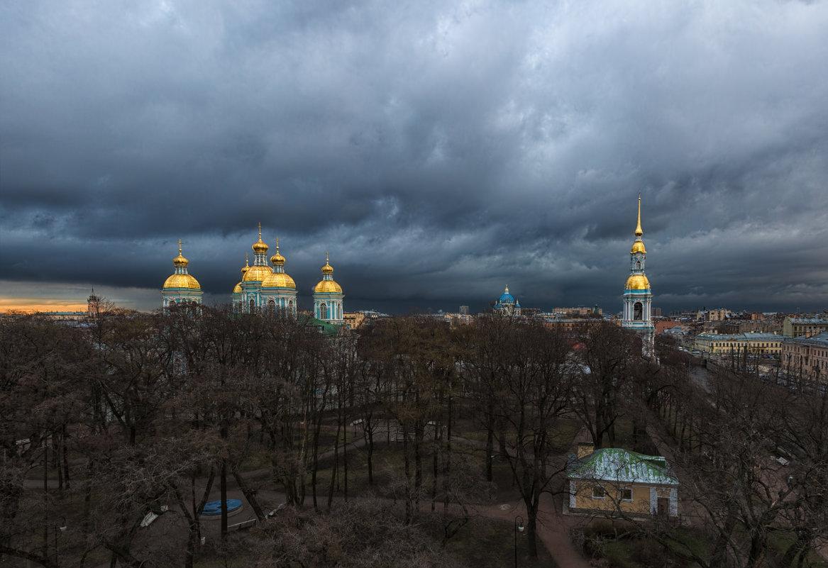 Полёты над Питером в непогоду - Владимир Колесников