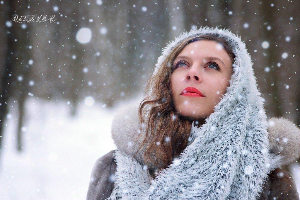 В зимнем лесу - Олеся Рогулёва