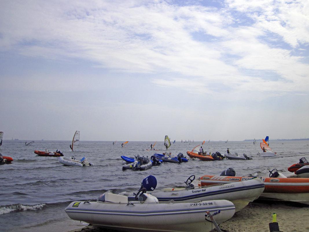 Чемпионат по виндсерфингу - Lukum