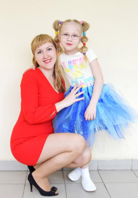 Мама и дочка - Вероника Подрезова