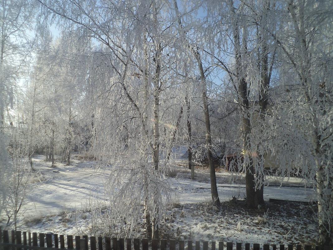 Снежная бахрома - Надежда Малинкина