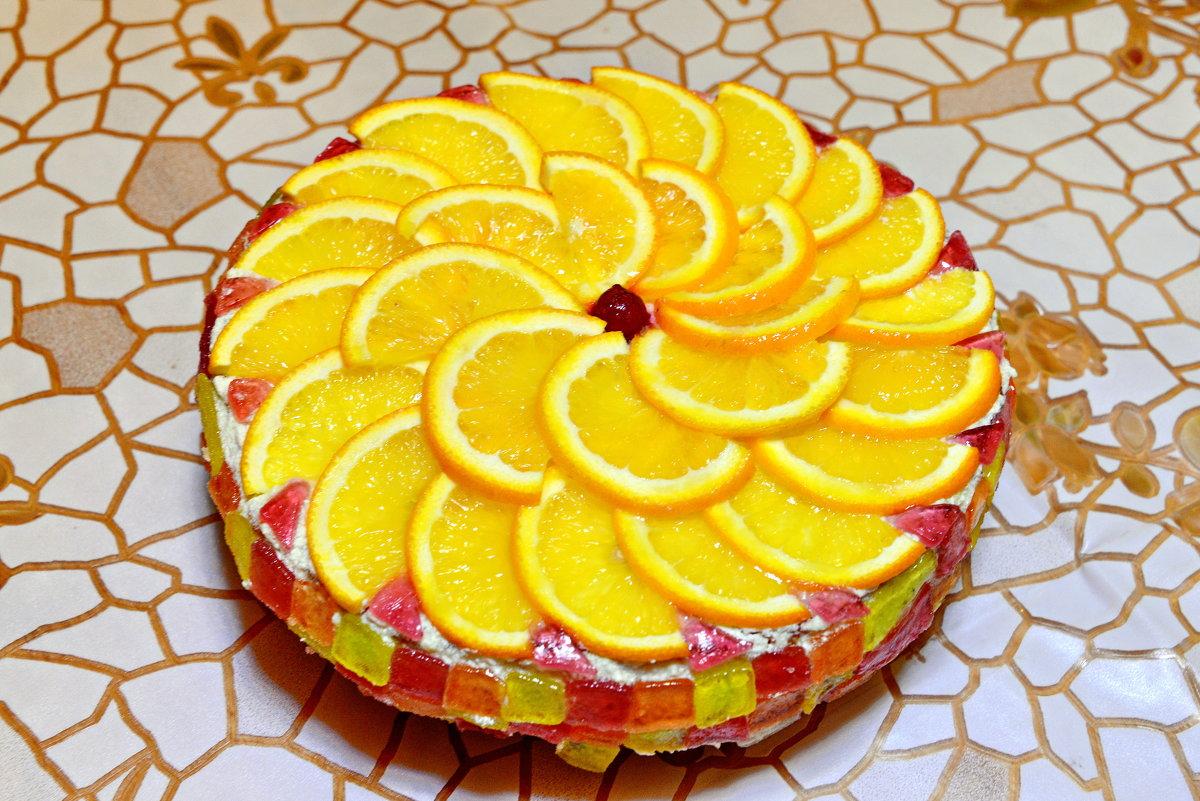 Торт фруктовый - Анатолий Чикчирный