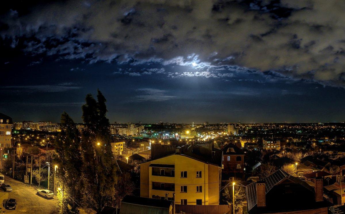 Апрельская ночь - Александр Гапоненко