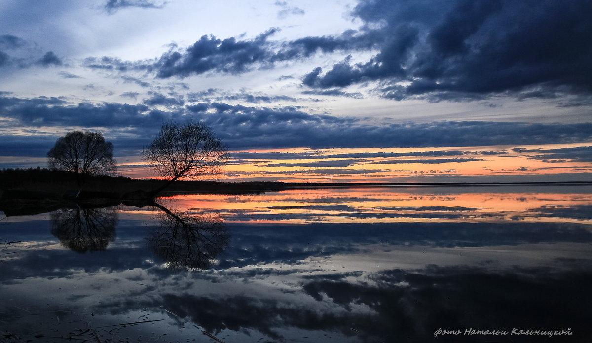 Закат на Плещеевом озере 22 апреля 2016года - ЭН КА