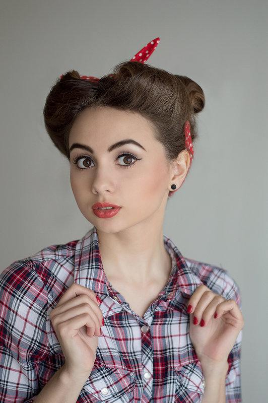 Пин ап - Анастасия Рычагова