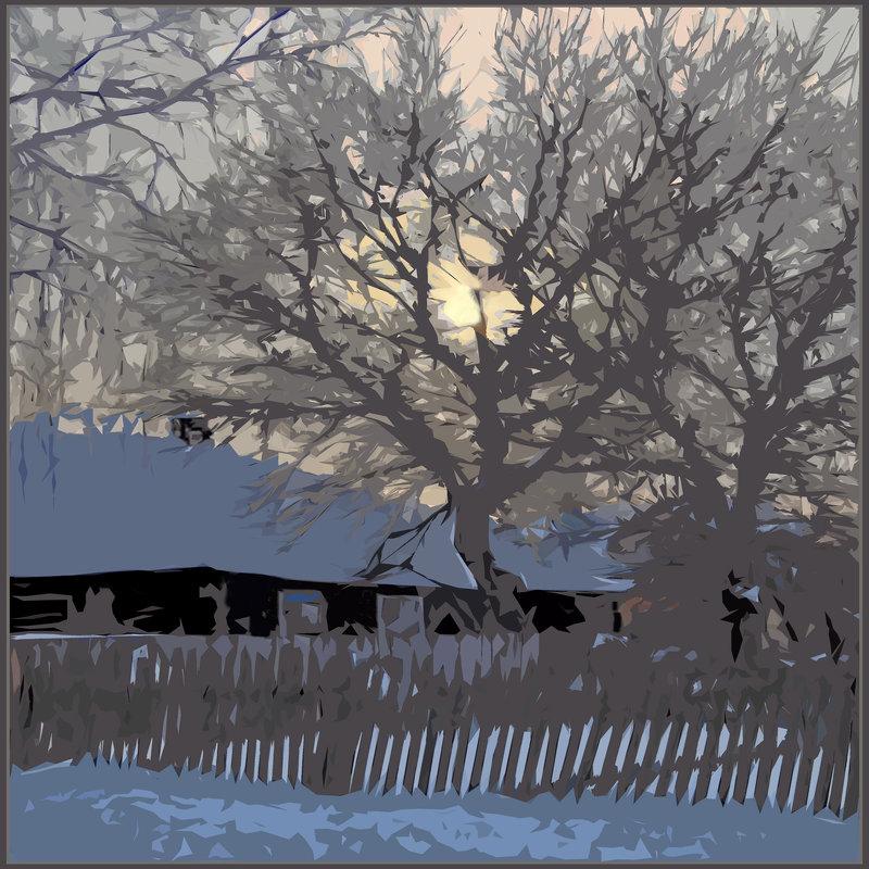 Зимние сумерки - Валерий Талашов
