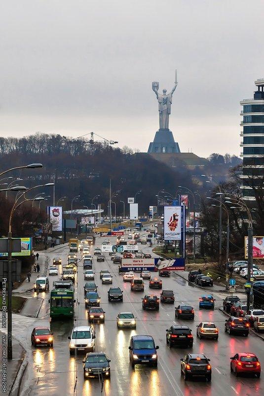 Киевский пейзаж - Богдан Петренко