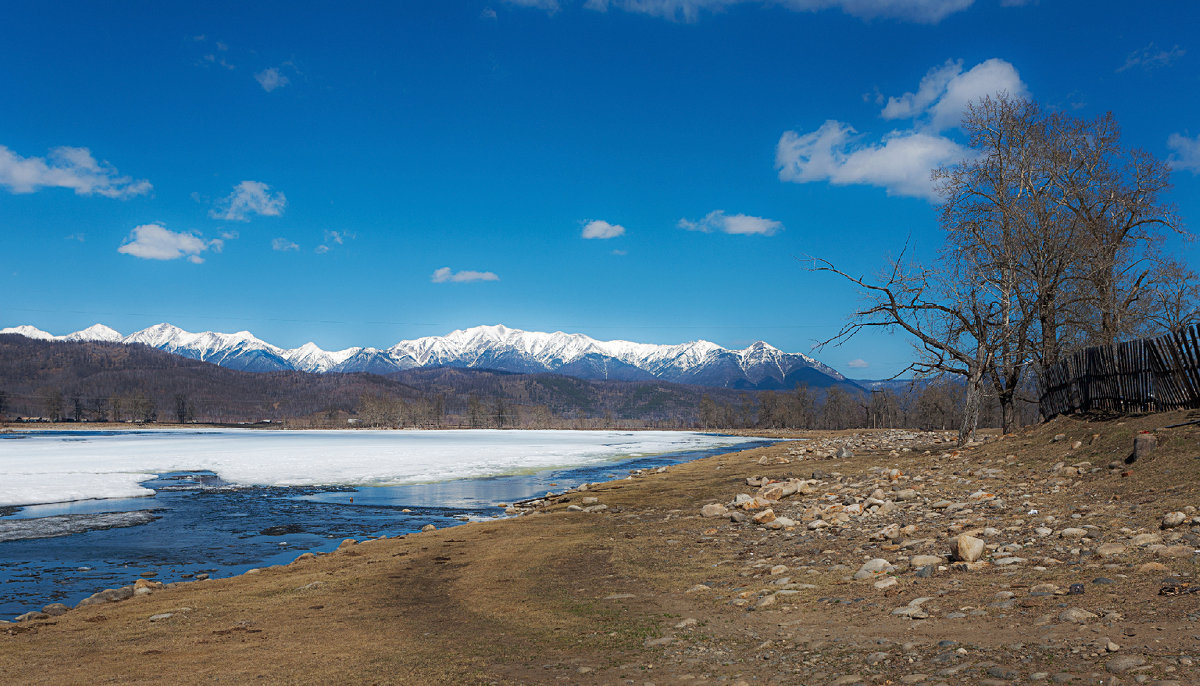 Реки Сибири. Река Зун-Мурино_2 - Анатолий Иргл