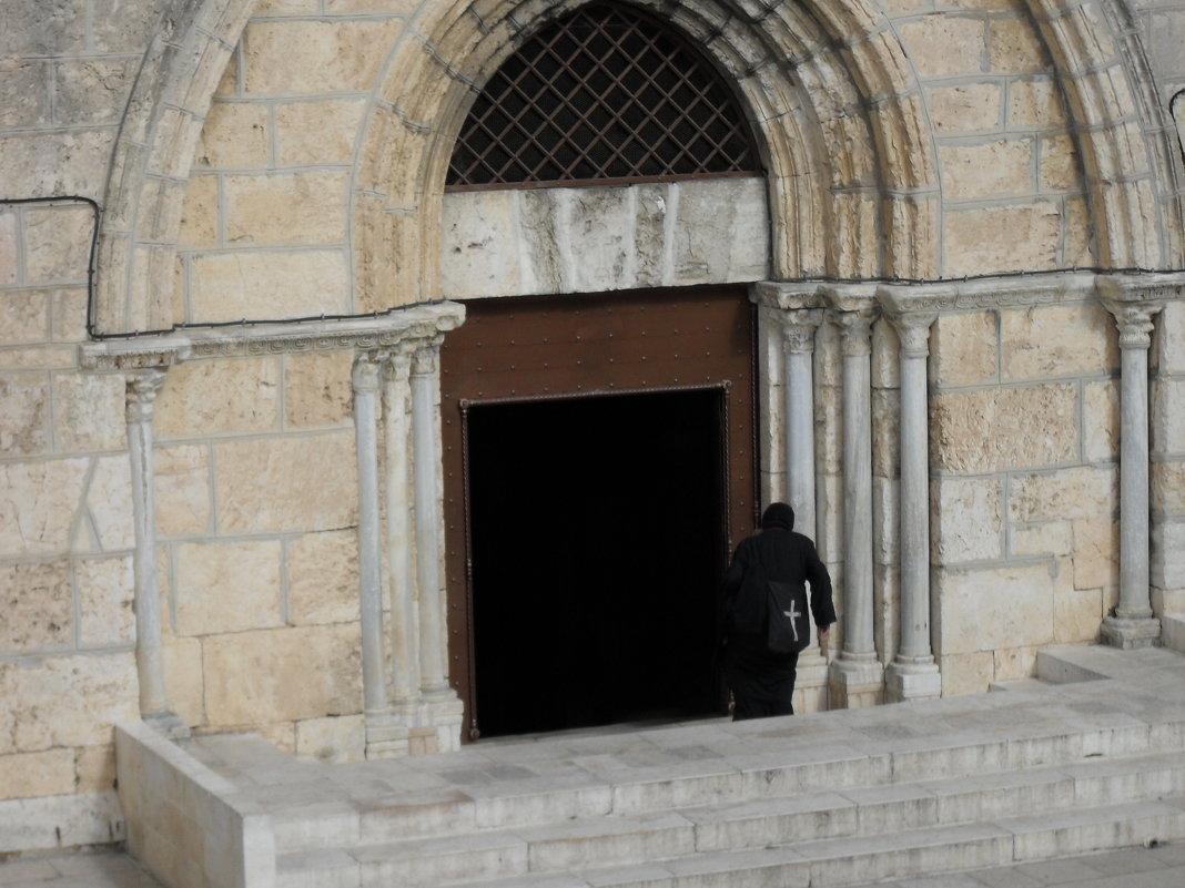 Вход в храм в Иерусалиме - Надежда