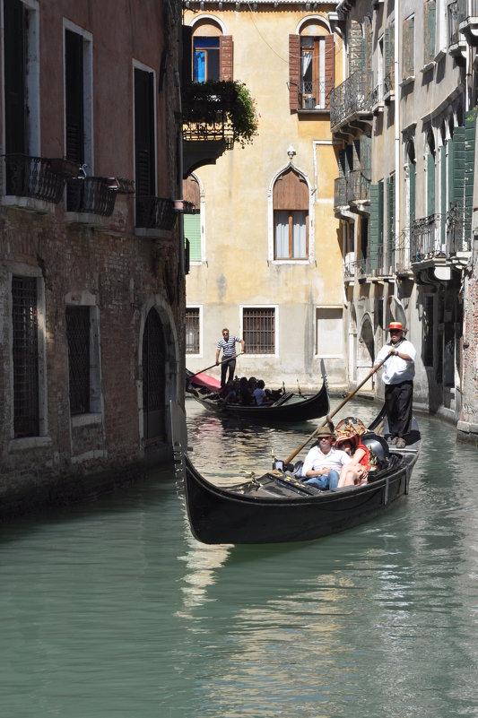 Каналы Венеции - аттракционы для туристов - Ирина