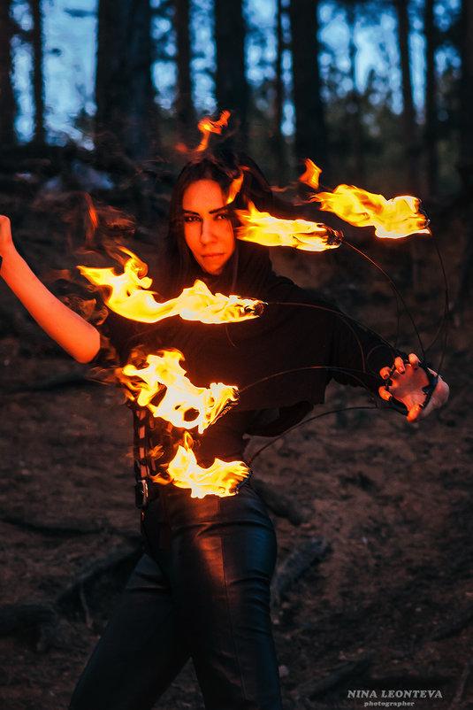 Укротительница огня - Nina Zhafirova