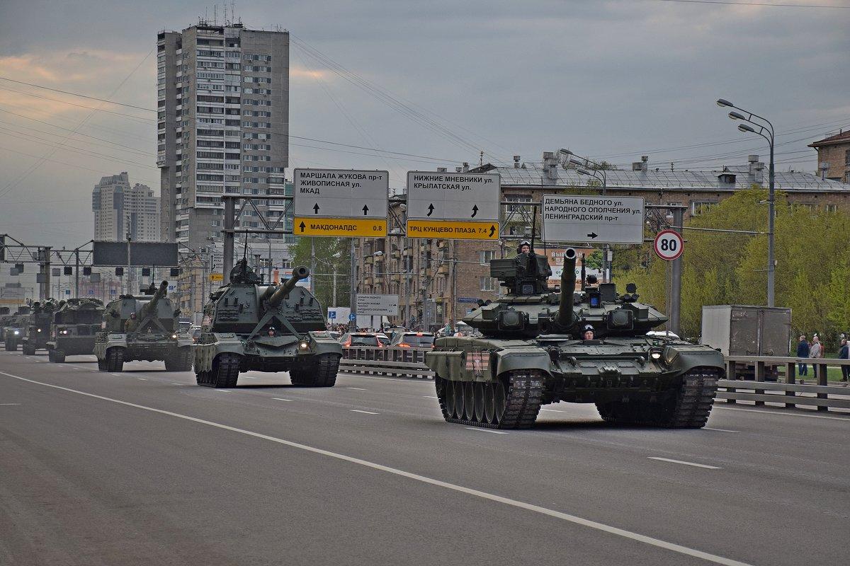 Репетиция парада 9 мая. - vkosin2012 Косинова Валентина
