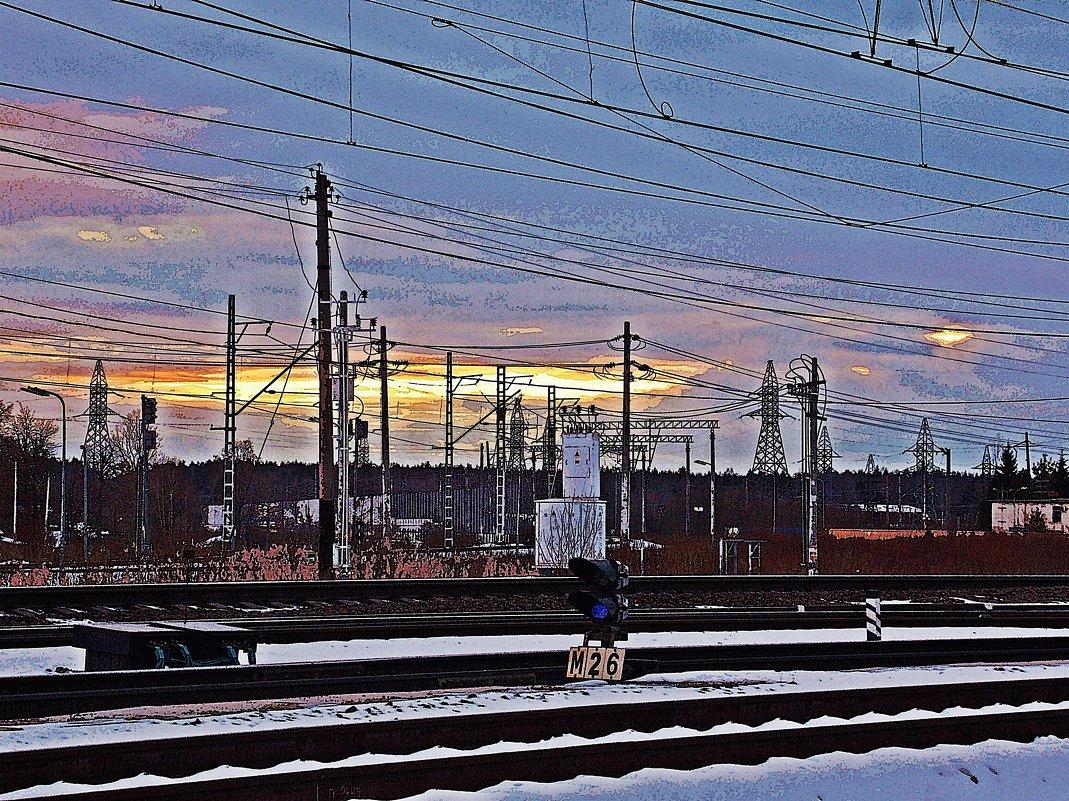 .Железная дорога-70.. - Фотогруппа Весна.
