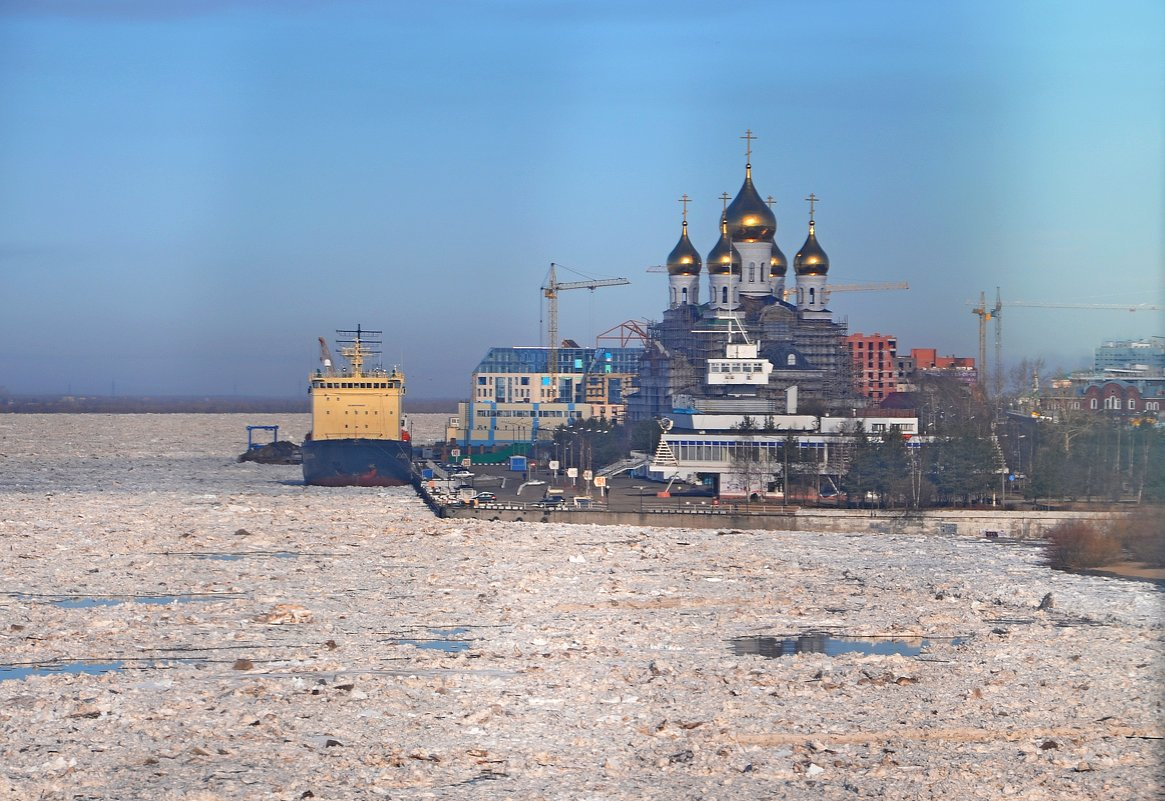 Северная Двина - апрель... - Елена Третьякова