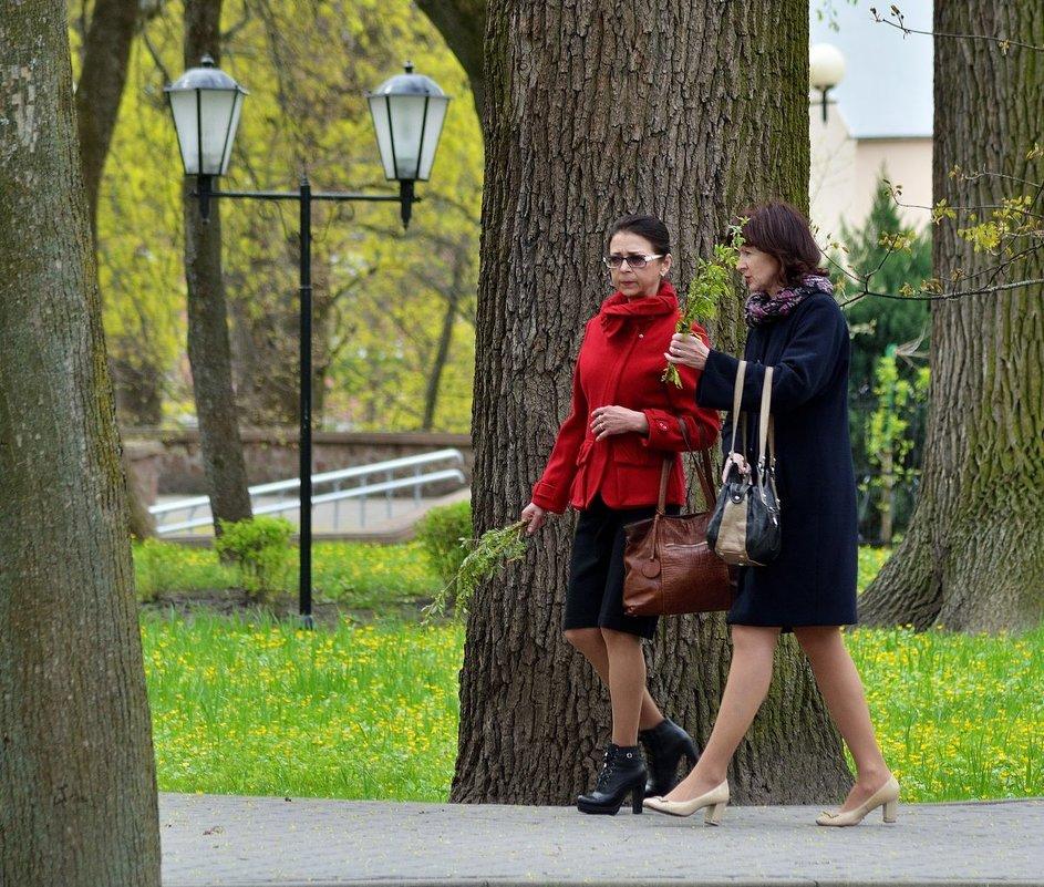 Весна,воскресный парк... - Юрий Анипов
