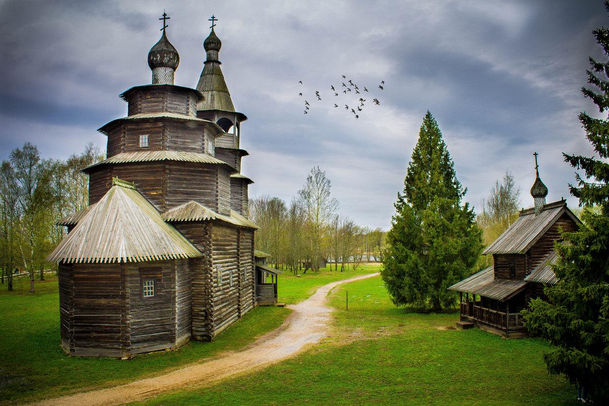 Музей деревянного зодчества в Великом Новгороде - Арина Зотова