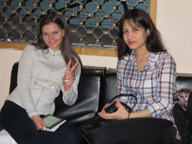Две подружки - Марина и Гуля - Дмитрий Никитин