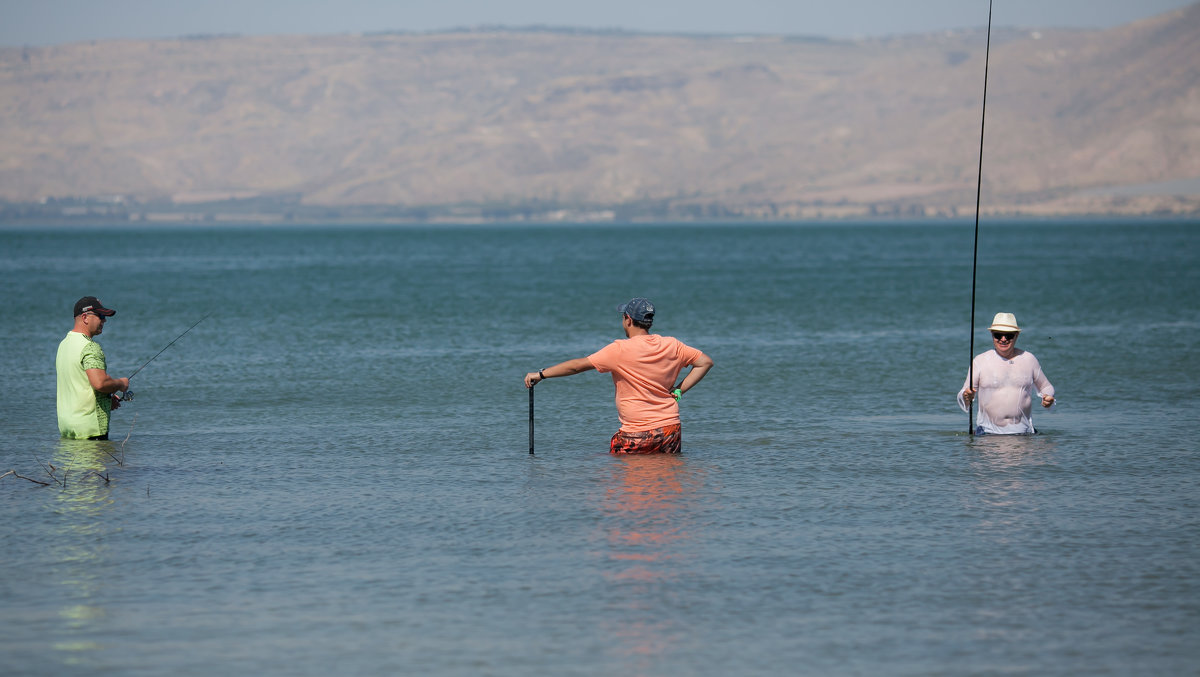 рыбалка на Кинерете - Павел L