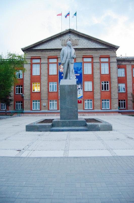 Памятник Ленину в Новосибирске - Света Кондрашова