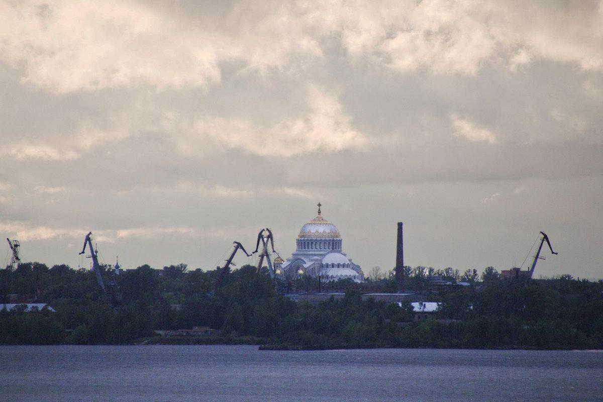 Морской собор с моря (залива) - Александр Рябчиков