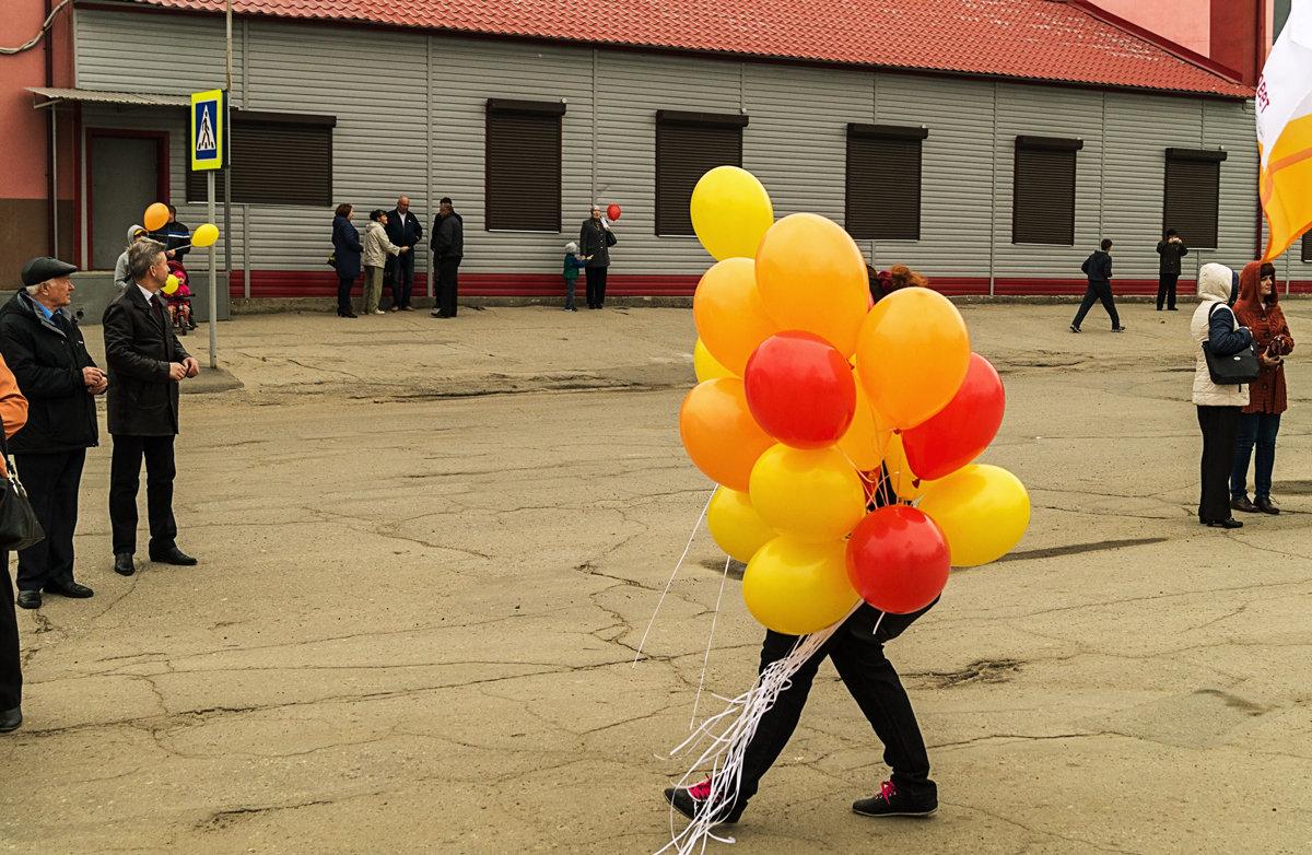 Человек-шар. - Андрей Лобанов