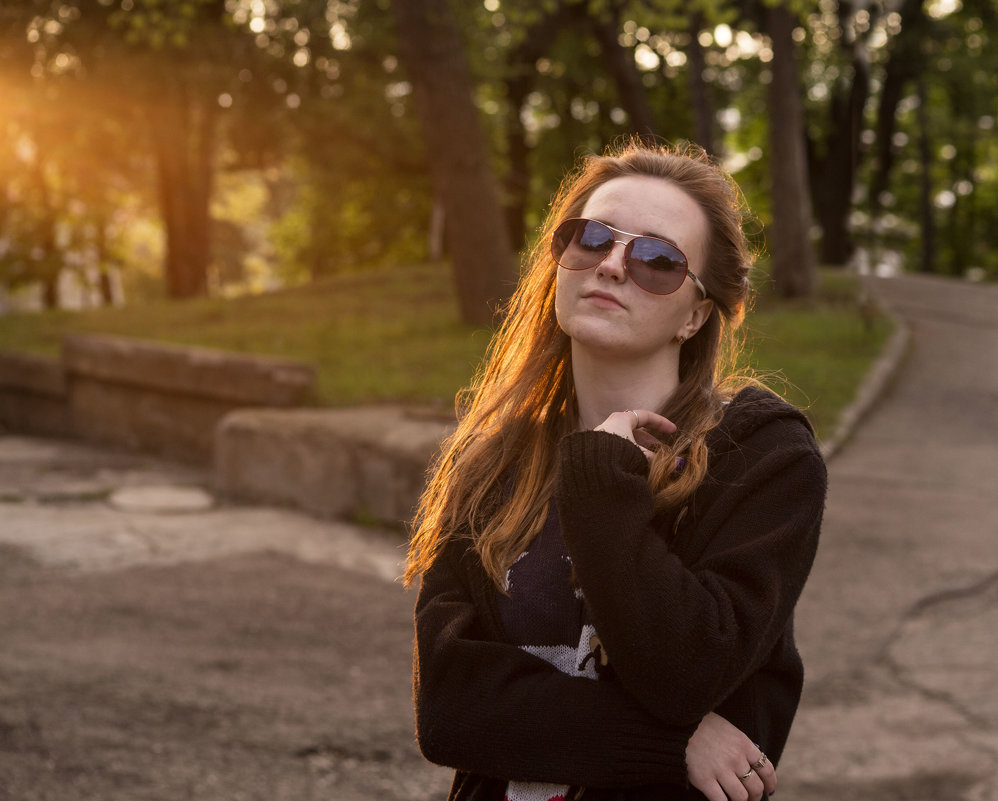 На закате - Анна Брацукова