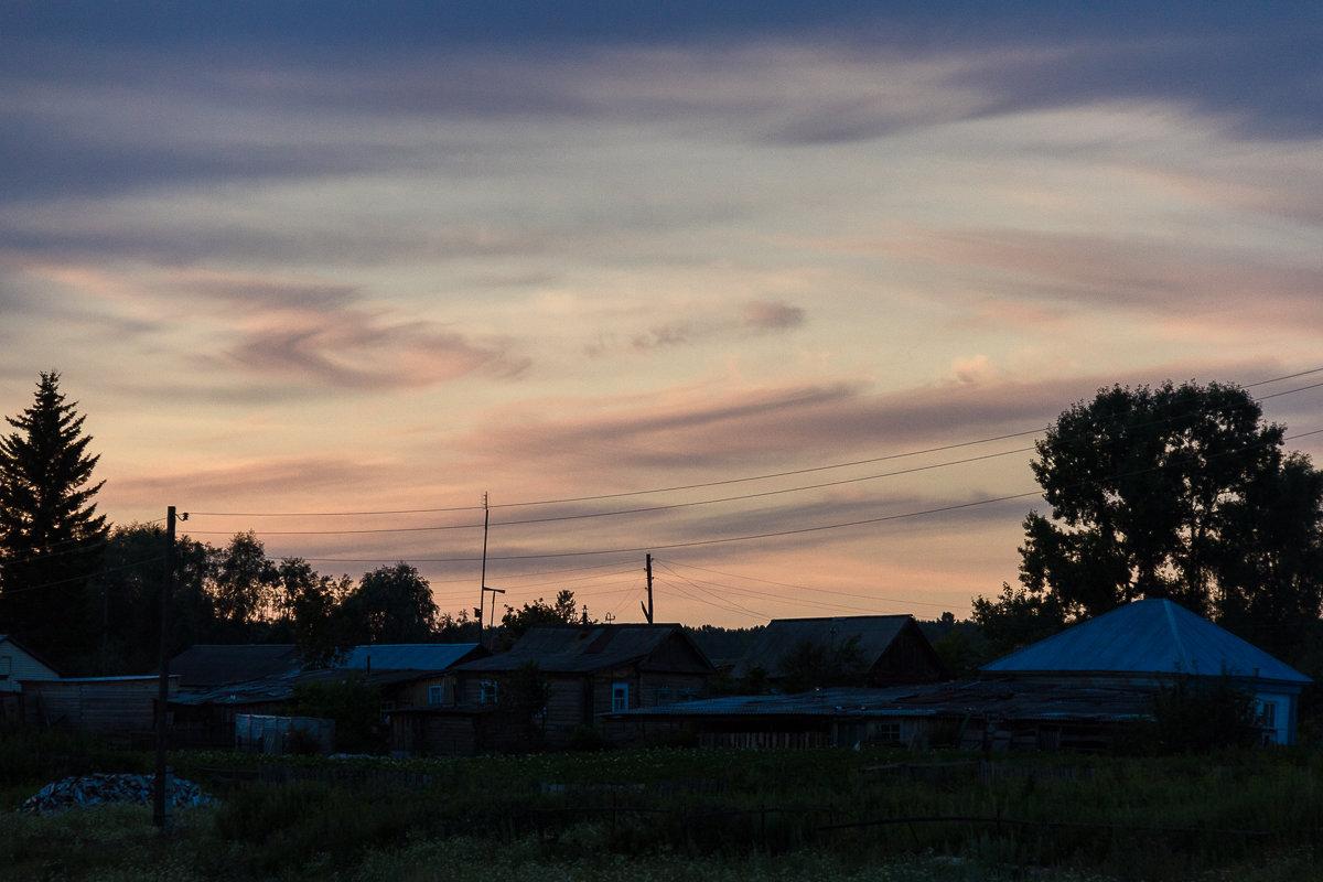 Летний вечер над русским селом - Алексей (АСкет) Степанов