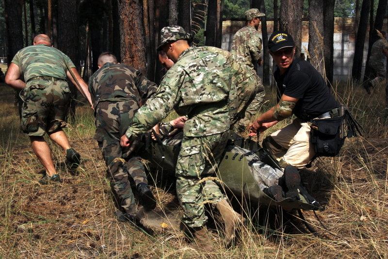 Учения военных медиков - Сергей Рубан