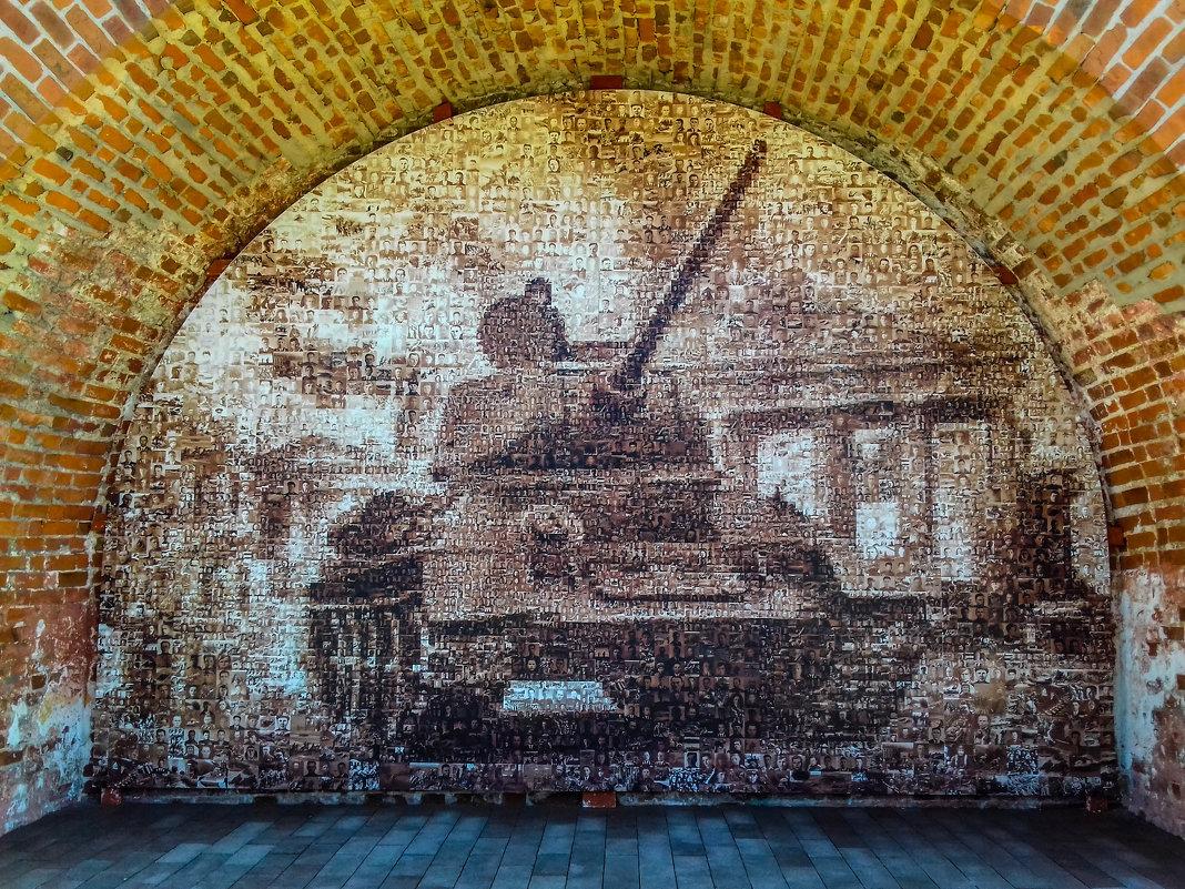 Панорама на стене Нижегородсеого Кремля. - Дмитрий Перов