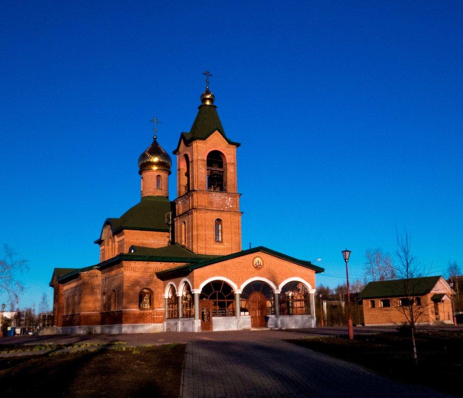 храм святителю Тихону - Алена Малыгина