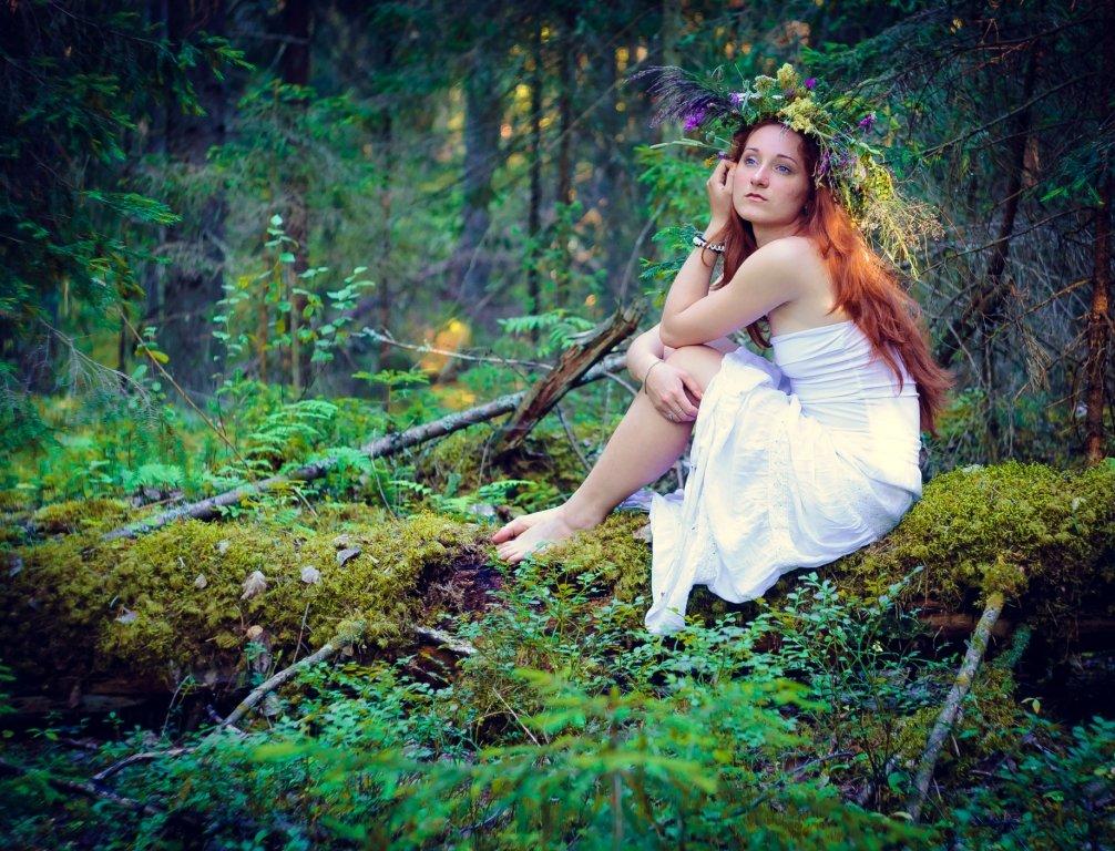 в лесу - Тася Тыжфотографиня