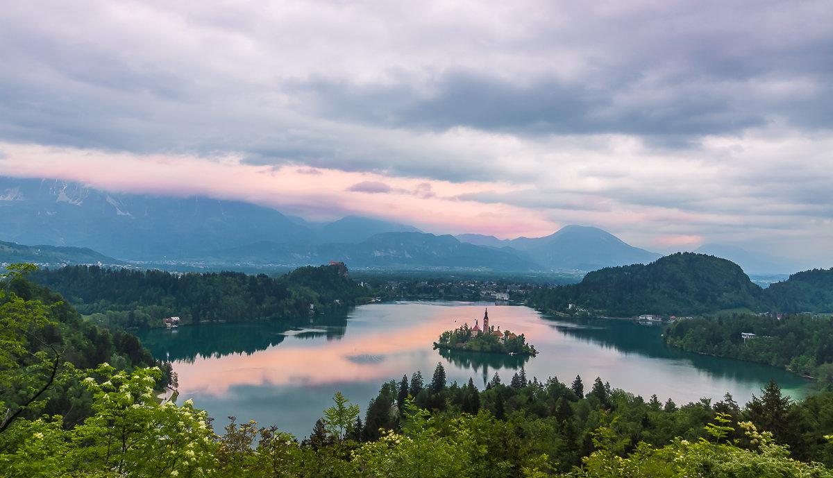 оз. Блед, Словения - Тиша