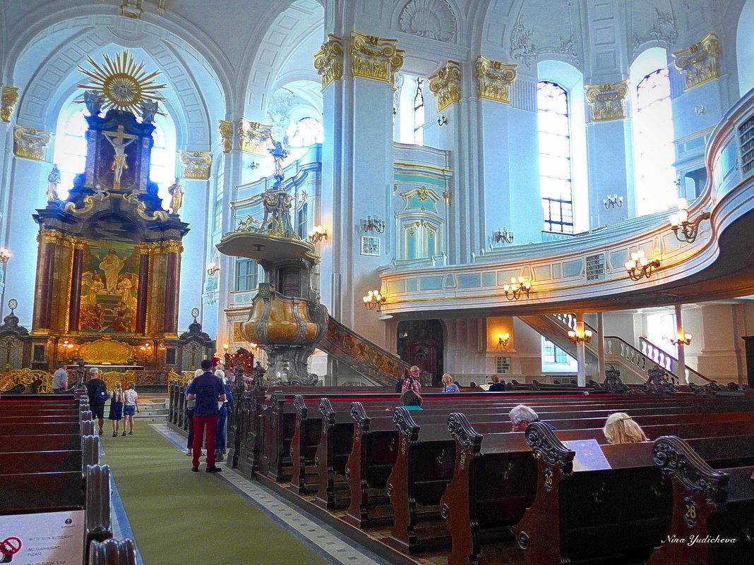 Гамбург. Храм Святого Михаила - Nina Yudicheva