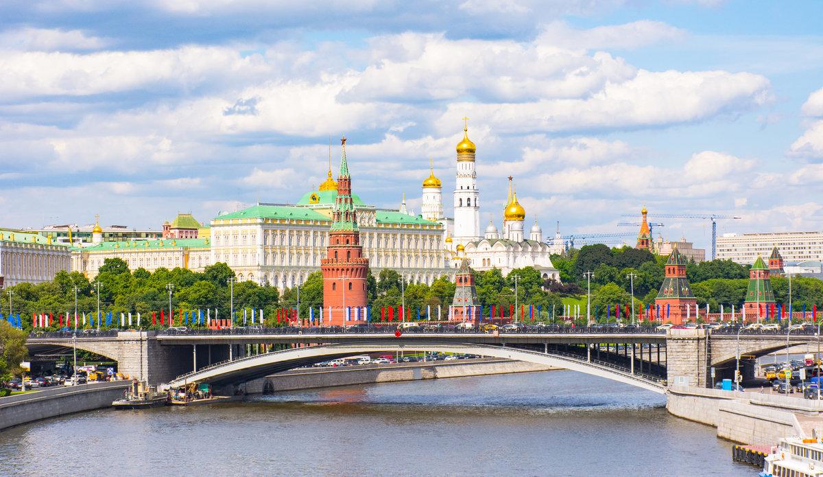 Вид на Кремль - Галина Кубарева