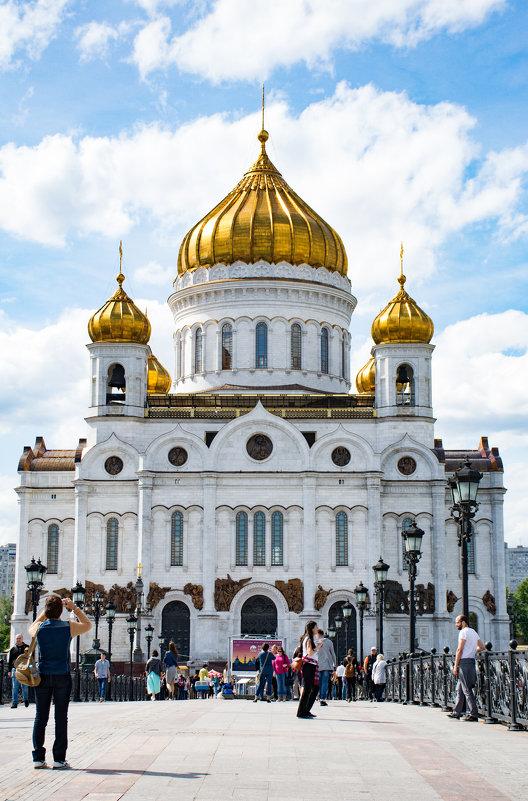 Храм Христа Спасителя - Галина Кубарева