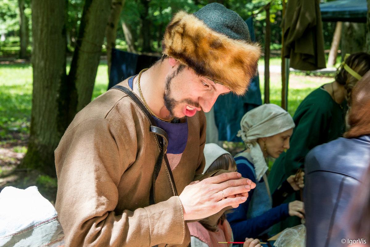 Гаджет в руках жителя средневековья - Игорь Вишняков