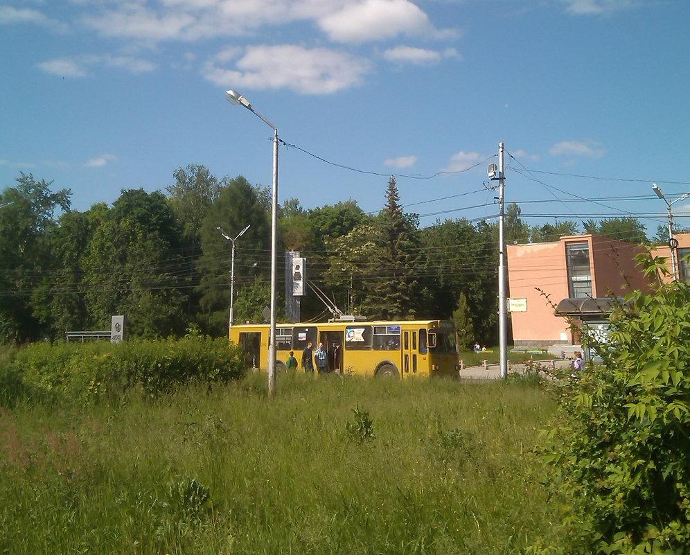 Троллейбус причалил. - Tarka